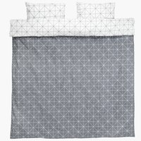 Duvet cover set ATLA KING grey
