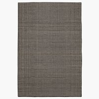 Rug VASSARV 160x230 wool black/white