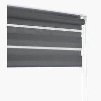 Rolgordijn Duo IDSE 140x180 grijs