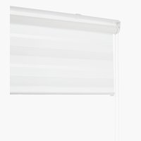 Roller blind Duo IDSE 80x180cm white
