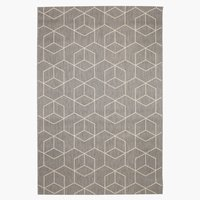 Rug BALSATRE 130x193 grey/white