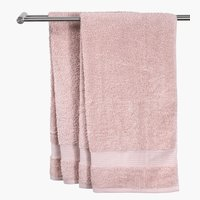 Bath towel KARLSTAD 70x140 light red