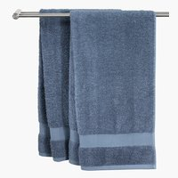 Bath sheet KARLSTAD 100x150 dusty blue
