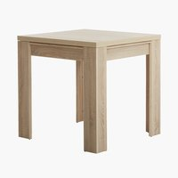 Dining Table HALLUND 80x80/160 oak