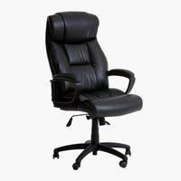 Chaise de bureau TJELE noir