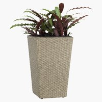 Flower pot BLOMMOR W31xL31xH50 nature