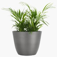 Flower pot HVEPS D53xH40 grey