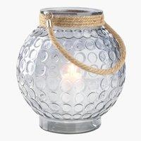 Lanterne GRANMEIS Ø25xH29 glass
