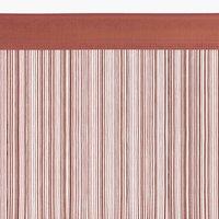 Provázková záclona NISSER 90x245 růžová