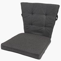 Pernă scaun spătar jos AIDT neagră