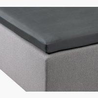 Sijauspatjalakana 160x200x6-10cm harmaa