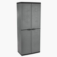 Skříňka KJELLER Š68xV166xH39 šedá