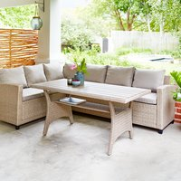 Loungeset ULLEHUSE 6 pers. naturel