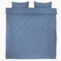 Bedding set KATJA DBL blue