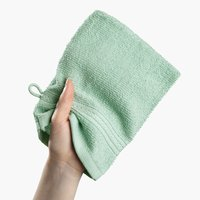 Washing glove UPPSALA 14x20 mint