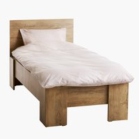 Bed frame VEDDE 90x200 wild oak