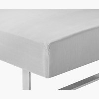Fitted sheet KING light grey KRONBORG