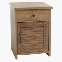 Bedside table MANDERUP 1 drw oak