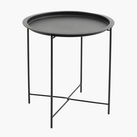 End table RANDERUP D47 black