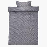 Set posteljine KAREN krep 140x200 siva