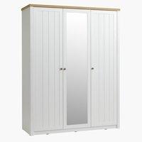 Kleiderschrank MARKSKEL 162x210 eiche/ws