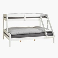 Bunk bed VESTERVIG SGL/KNG white