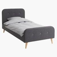 Рамка за легло KONGSBERG 90x200 сива