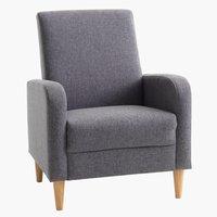Armchair GEDVED grey