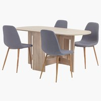 OBLING L100/163 + 4 UK JONSTRUP grey